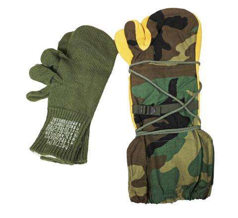 Trigger Finger Mittens with Inserts